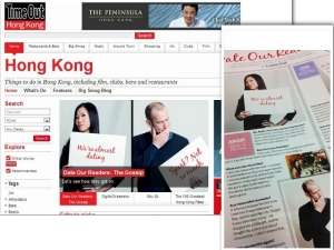 Angie Palmer on TimeOut Hong Kong